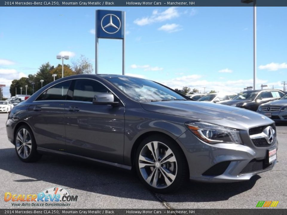 Front 3 4 view of 2014 mercedes benz cla 250 photo 3 for Mercedes benz mountain view