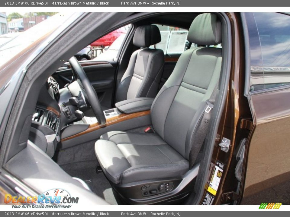 front seat of 2013 bmw x6 xdrive50i photo 12. Black Bedroom Furniture Sets. Home Design Ideas