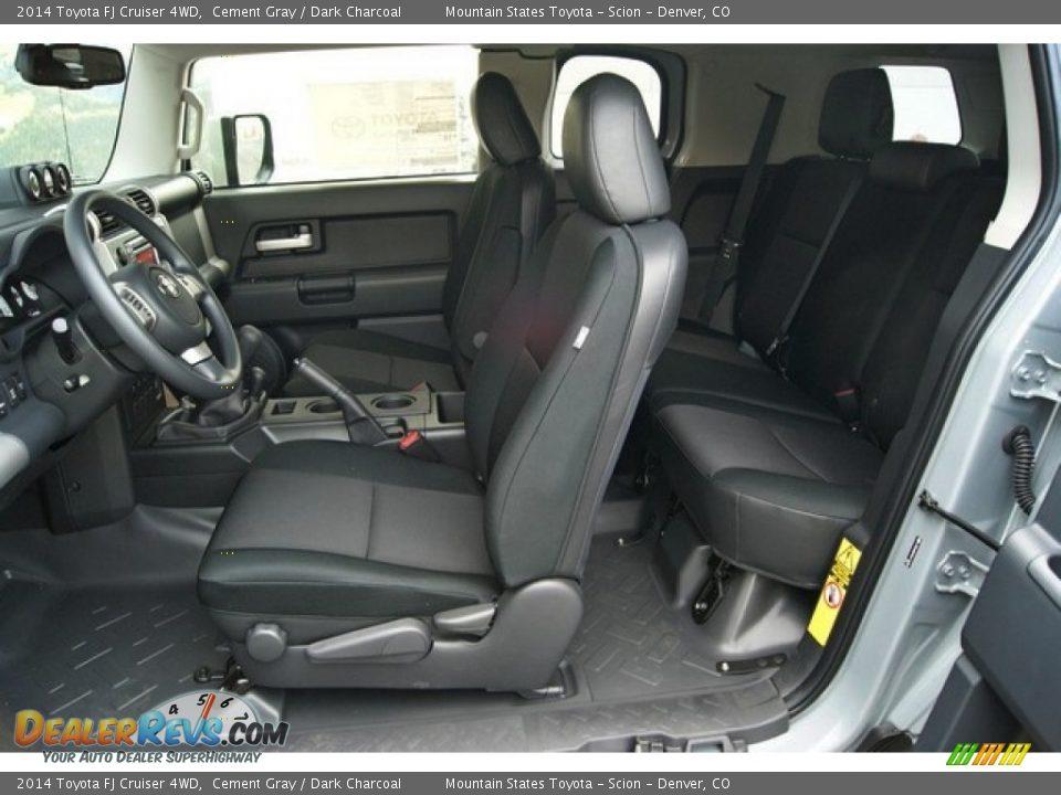 Dark Charcoal Interior 2014 Toyota Fj Cruiser 4wd Photo