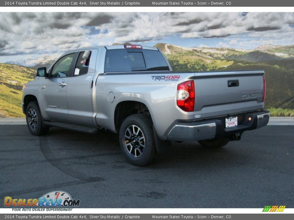 2014 toyota tundra limited double cab 4x4 silver sky metallic graphite photo 3. Black Bedroom Furniture Sets. Home Design Ideas