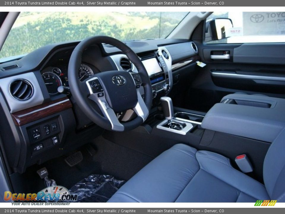 Graphite Interior - 2014 Toyota Tundra Limited Double Cab ...