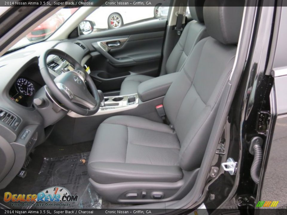 Charcoal Interior 2014 Nissan Altima 3 5 Sl Photo 10