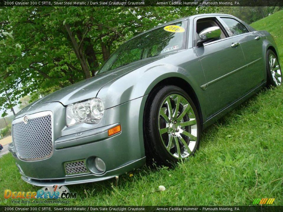2006 Chrysler 300 C Srt8 Silver Steel Metallic Dark