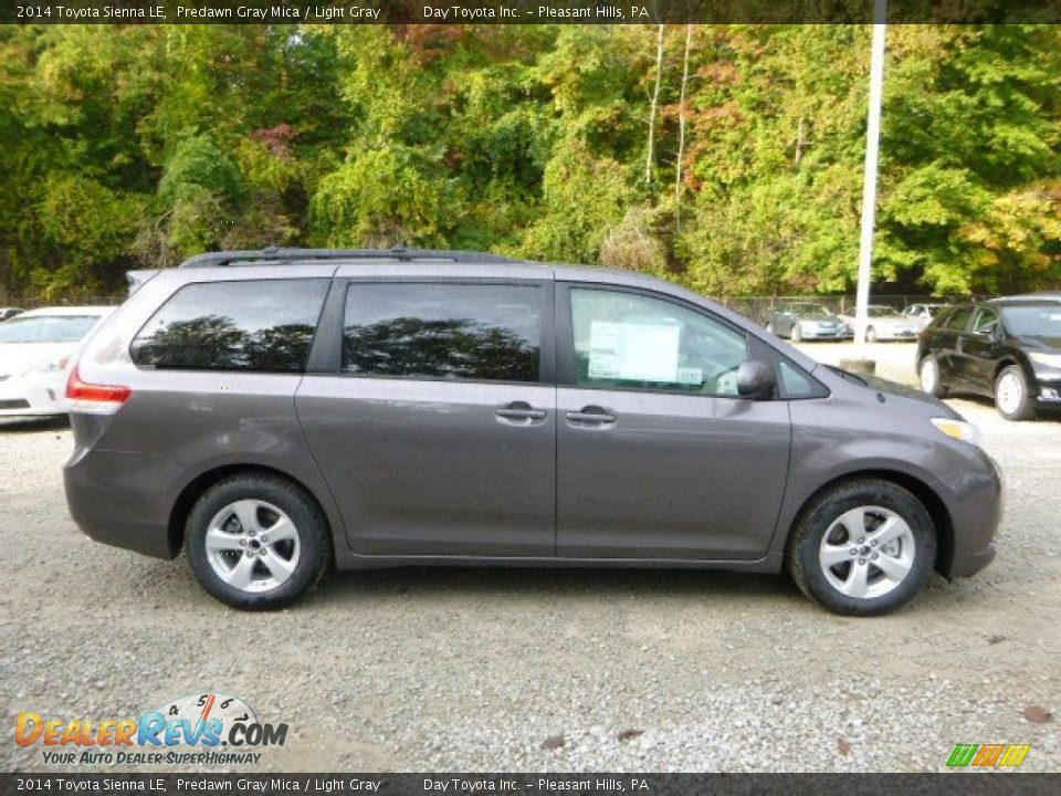 2014 toyota sienna le predawn gray mica light gray photo 2. Black Bedroom Furniture Sets. Home Design Ideas