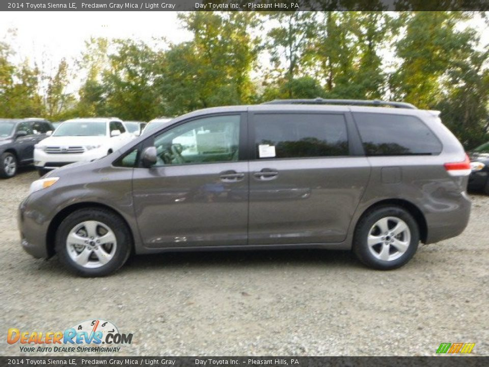 2014 toyota sienna le predawn gray mica light gray photo 6. Black Bedroom Furniture Sets. Home Design Ideas