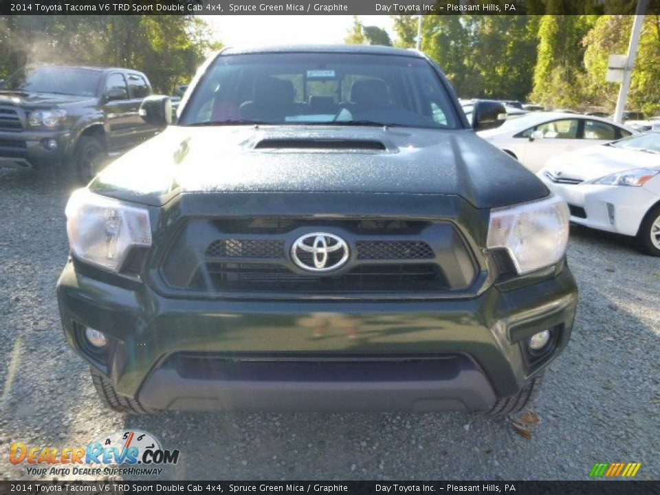 2014 Toyota Tacoma V6 TRD Sport Double Cab 4x4 Spruce Green Mica
