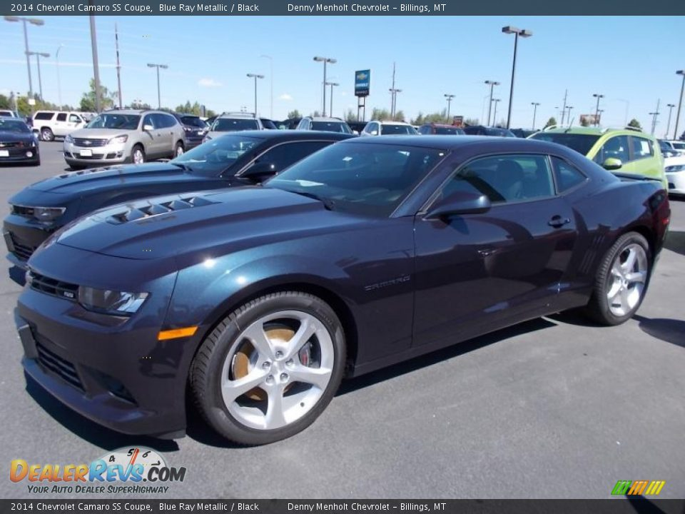 2014 chevrolet camaro ss coupe blue ray metallic black. Black Bedroom Furniture Sets. Home Design Ideas