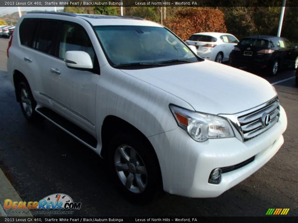 2013 lexus gx 460 starfire white pearl black auburn. Black Bedroom Furniture Sets. Home Design Ideas