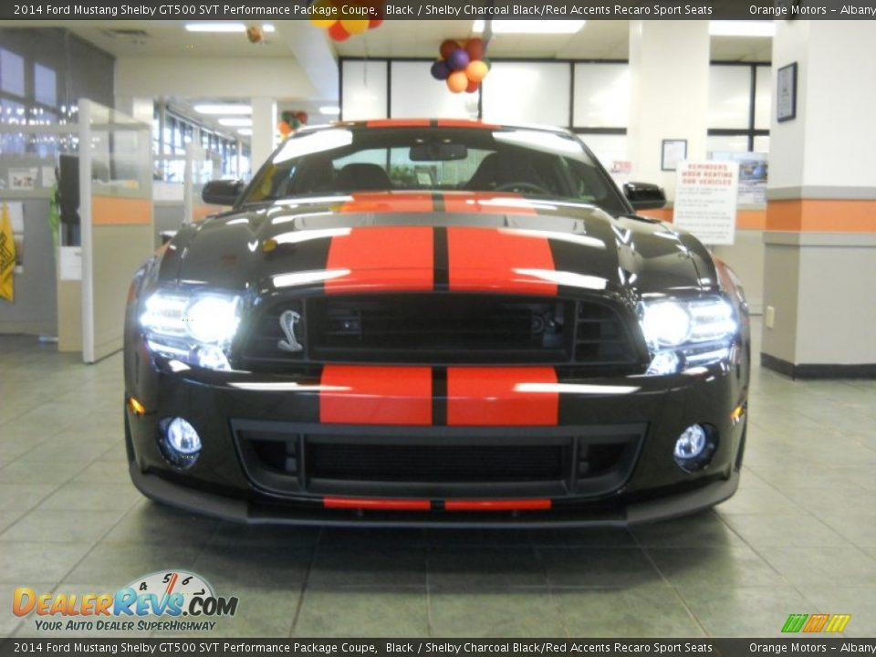 2014 Ford Mustang Shelby GT500 SVT Performance Package Coupe Black