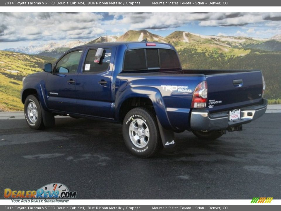 2014 toyota tacoma v6 trd double cab 4x4 blue ribbon metallic graphite photo 3. Black Bedroom Furniture Sets. Home Design Ideas