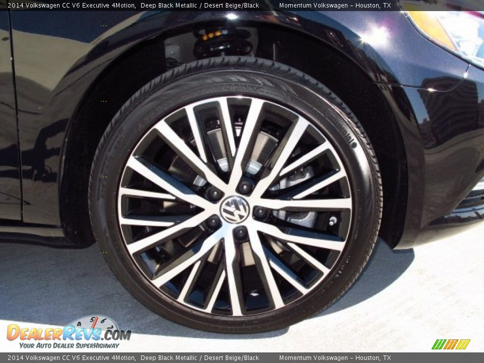 2014 Volkswagen CC V6 Executive 4Motion Wheel Photo #7