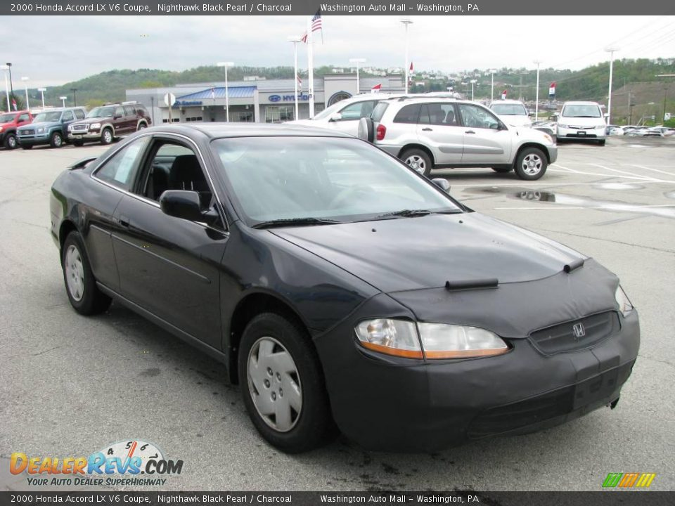 2000 Honda Accord LX V6 Coupe Nighthawk Black Pearl ...