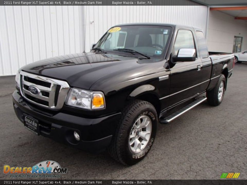 2011 ford ranger xlt supercab 4x4 black medium dark. Black Bedroom Furniture Sets. Home Design Ideas