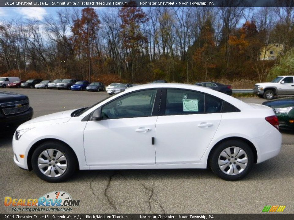 summit white 2014 chevrolet cruze ls photo 2. Black Bedroom Furniture Sets. Home Design Ideas