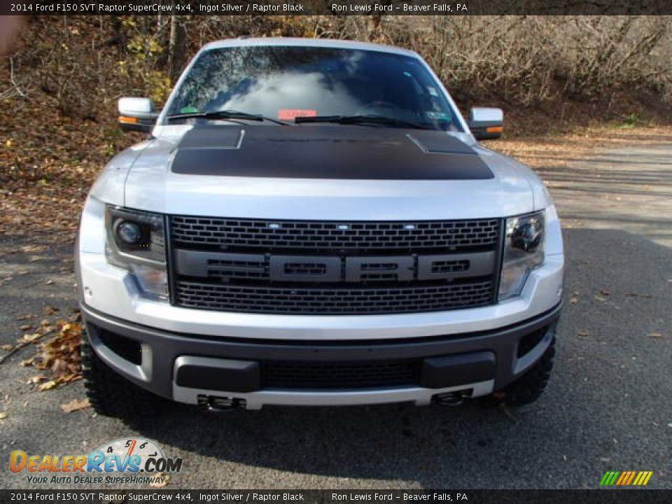 2014 Ford F150 SVT Raptor SuperCrew 4x4 Ingot Silver / Raptor Black