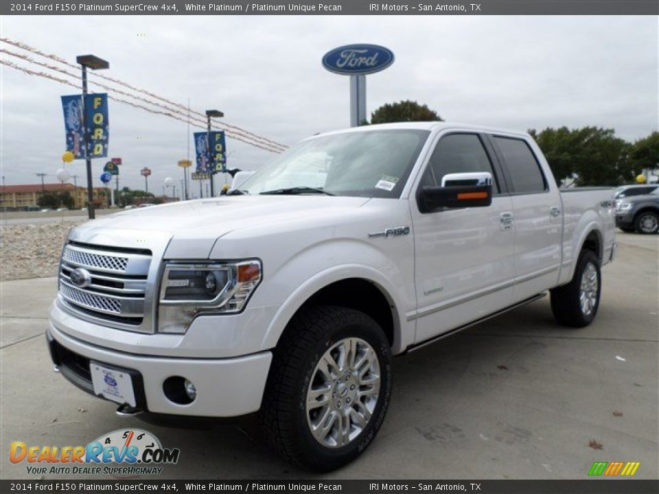 2014 ford f150 platinum supercrew 4x4 white platinum. Black Bedroom Furniture Sets. Home Design Ideas