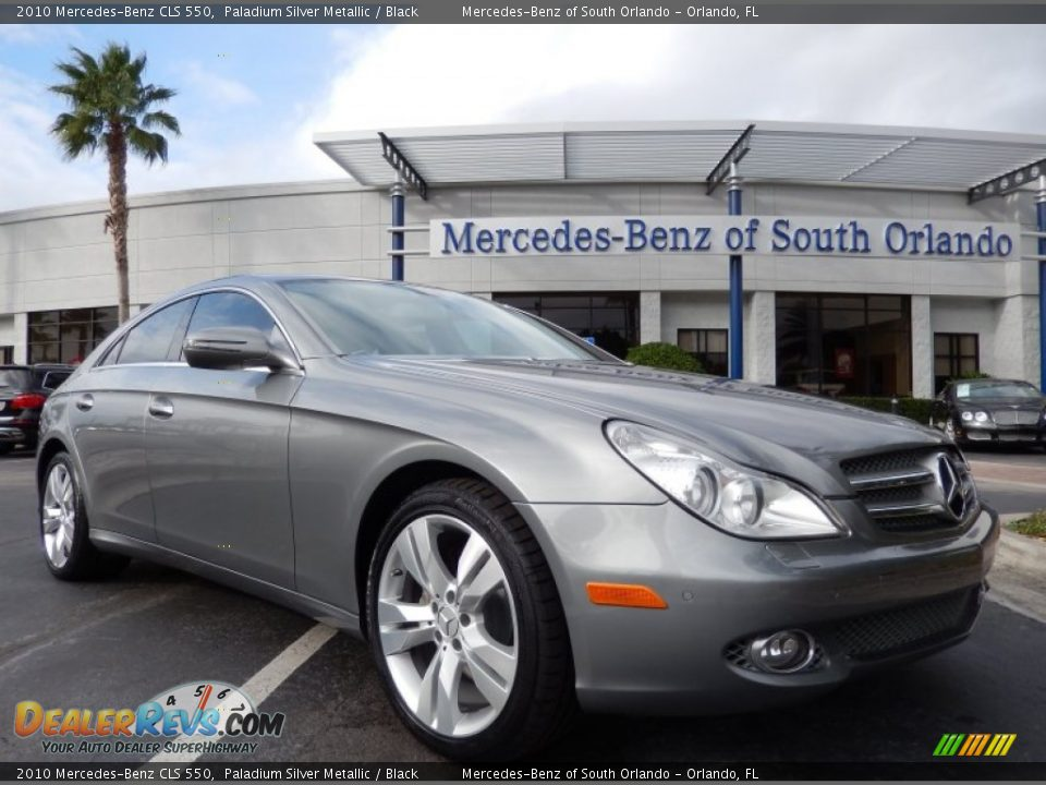 2010 mercedes benz cls 550 paladium silver metallic for 2010 mercedes benz cls