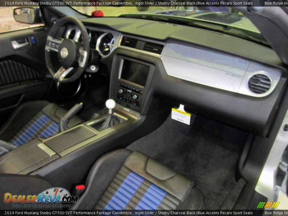 Dashboard of 2014 Ford Mustang Shelby GT500 SVT Performance Package Convertible Photo #20