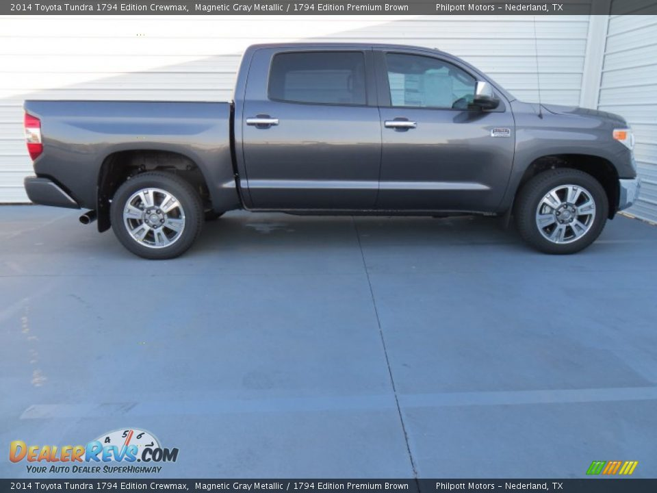 2014 toyota tundra 1794 edition crewmax magnetic gray metallic 1794 edition premium brown
