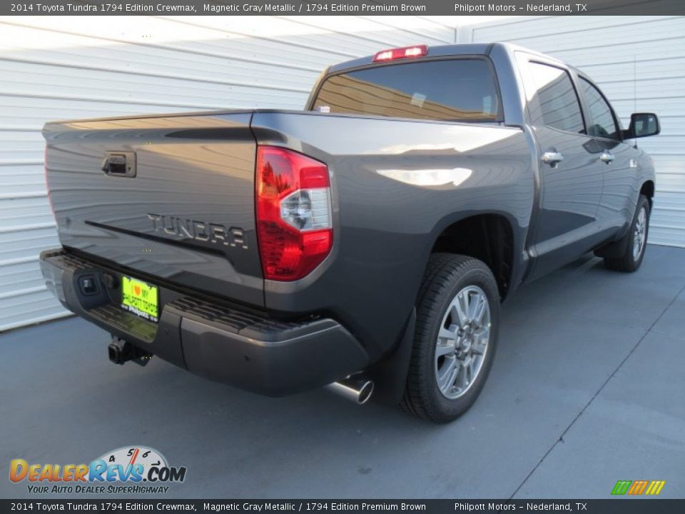 2014 Toyota Tundra 1794 Edition Crewmax Magnetic Gray