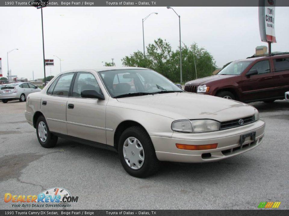 1993 Toyota Camry Dx Sedan Beige Pearl Beige Photo 4