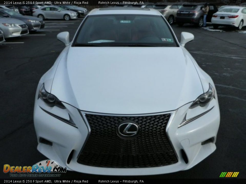 2014 lexus is 250 f sport awd ultra white rioja red photo 7. Black Bedroom Furniture Sets. Home Design Ideas