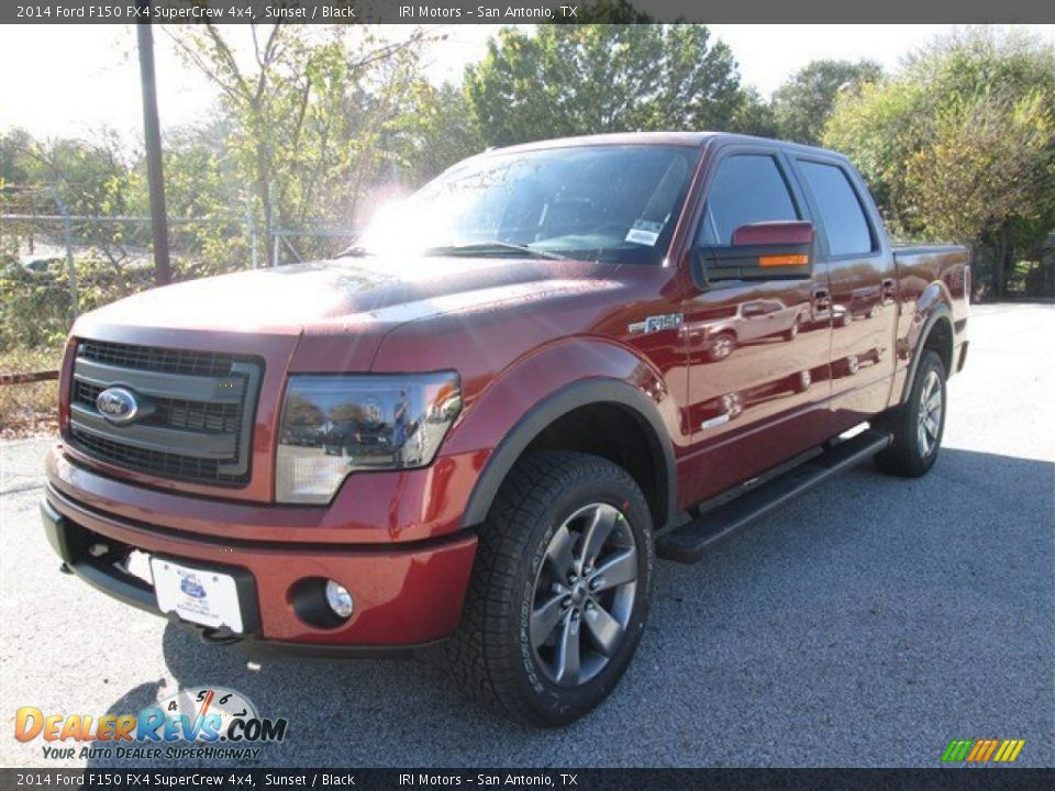 2014 ford f150 fx4 supercrew 4x4 sunset black photo 1. Black Bedroom Furniture Sets. Home Design Ideas