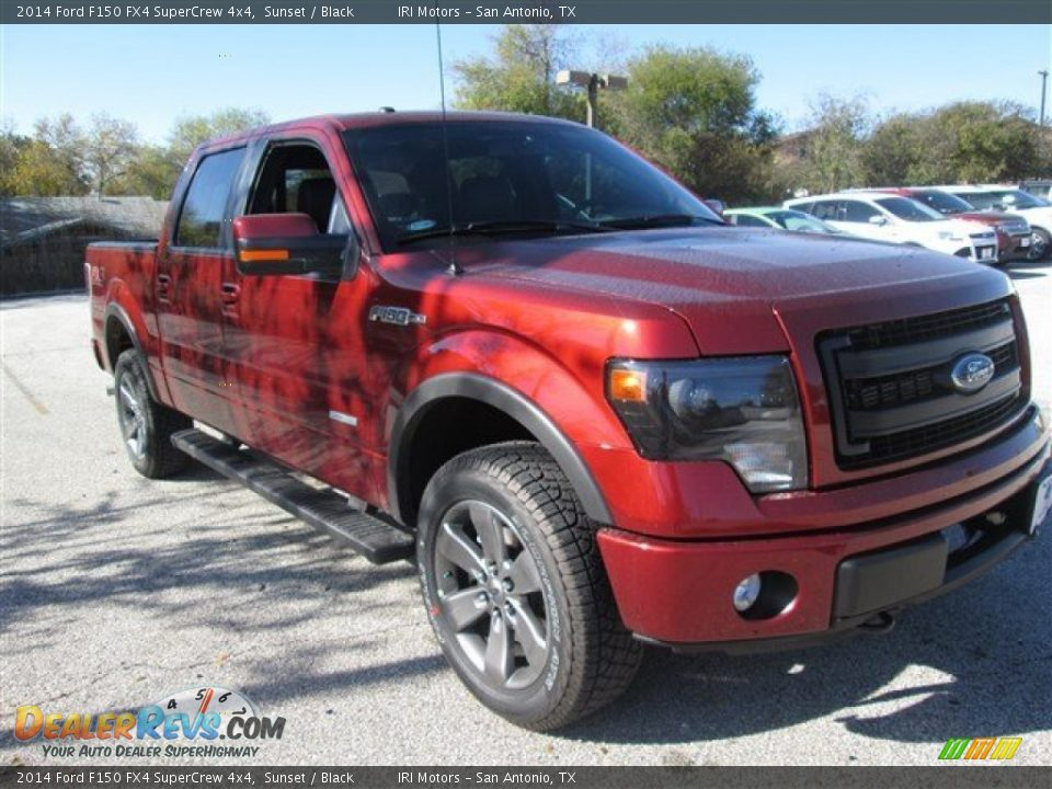 2014 ford f150 fx4 supercrew 4x4 sunset black photo 7. Black Bedroom Furniture Sets. Home Design Ideas