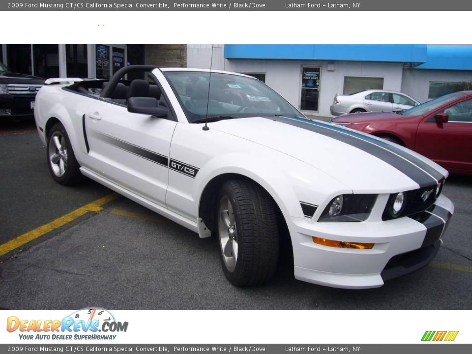 2009 ford mustang gt cs california special convertible performance white black dove photo 4. Black Bedroom Furniture Sets. Home Design Ideas