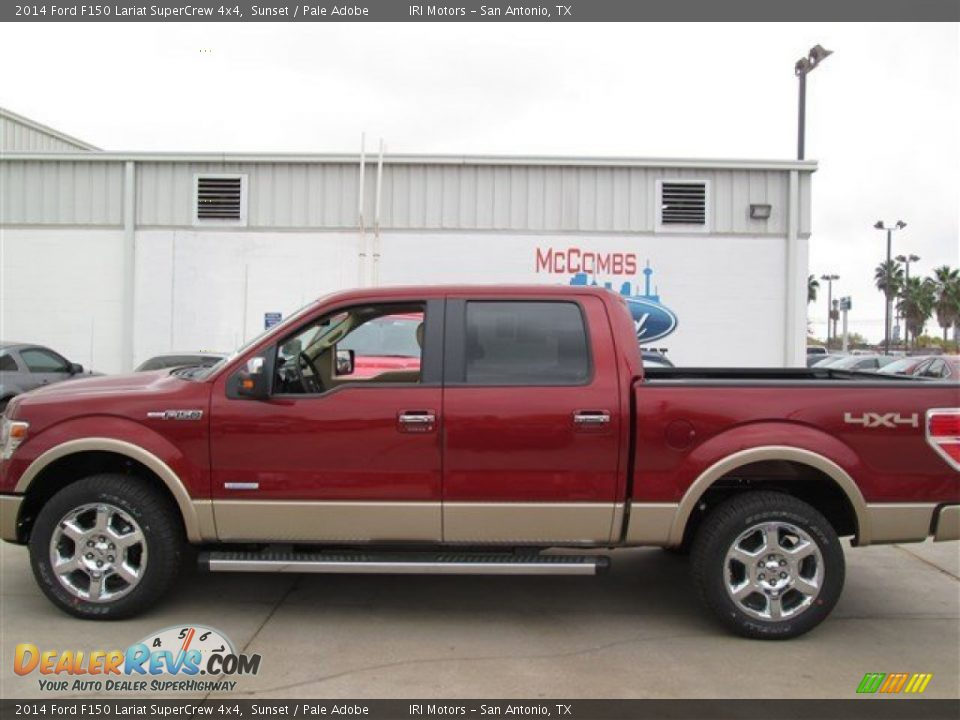 2014 ford f150 lariat supercrew 4x4 sunset pale adobe photo 2. Black Bedroom Furniture Sets. Home Design Ideas