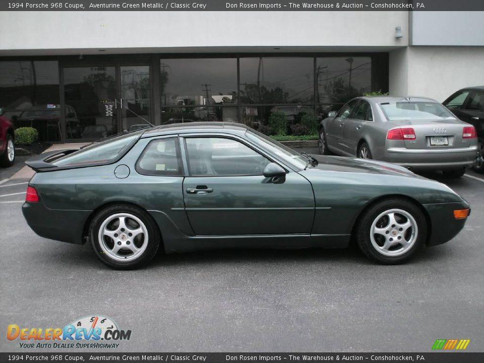 1994 Porsche 968 Coupe Aventurine Green Metallic Classic