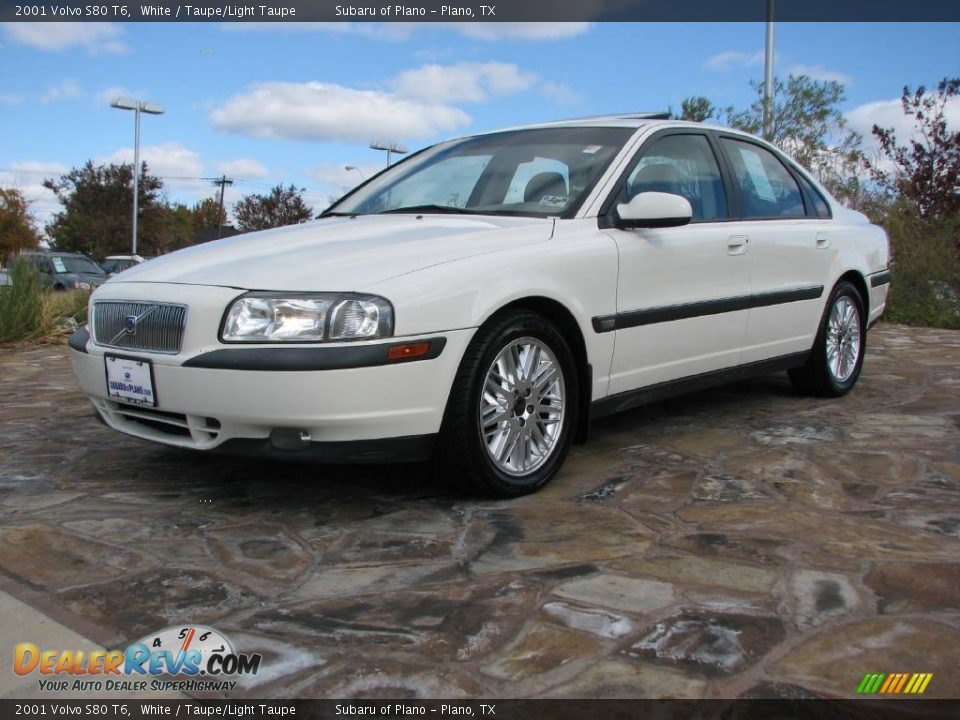 2001 volvo s80 t6 white taupe light taupe photo 3. Black Bedroom Furniture Sets. Home Design Ideas