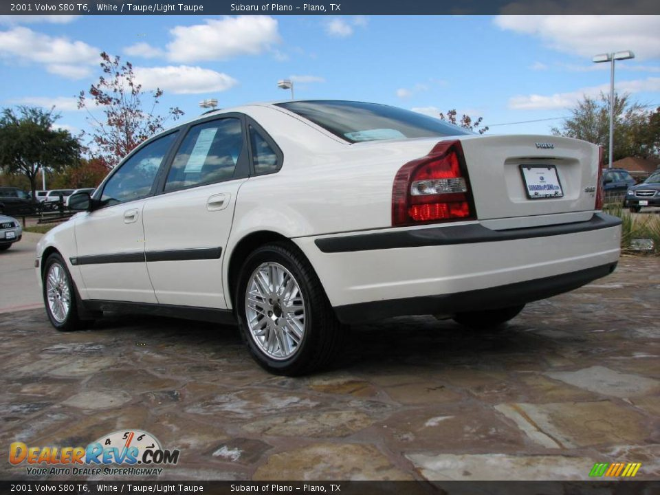 2001 volvo s80 t6 white taupe light taupe photo 5. Black Bedroom Furniture Sets. Home Design Ideas