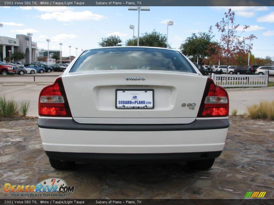 Volvo S80 2001 White 2001 Volvo S80 t6 White
