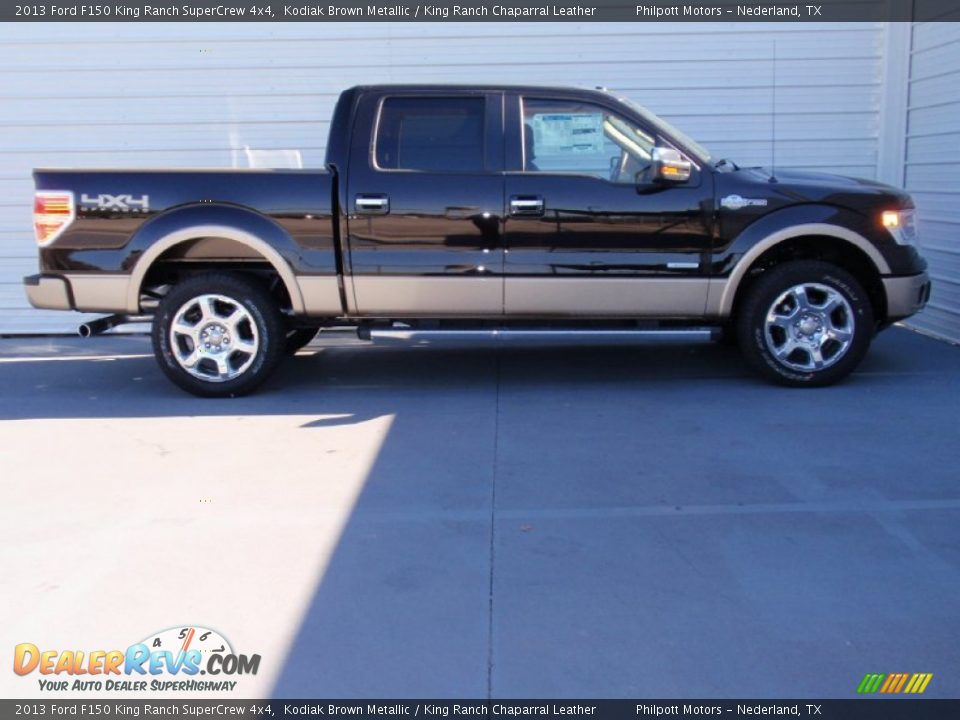 2013 ford f150 king ranch supercrew 4x4 kodiak brown metallic king ranch chaparral leather. Black Bedroom Furniture Sets. Home Design Ideas