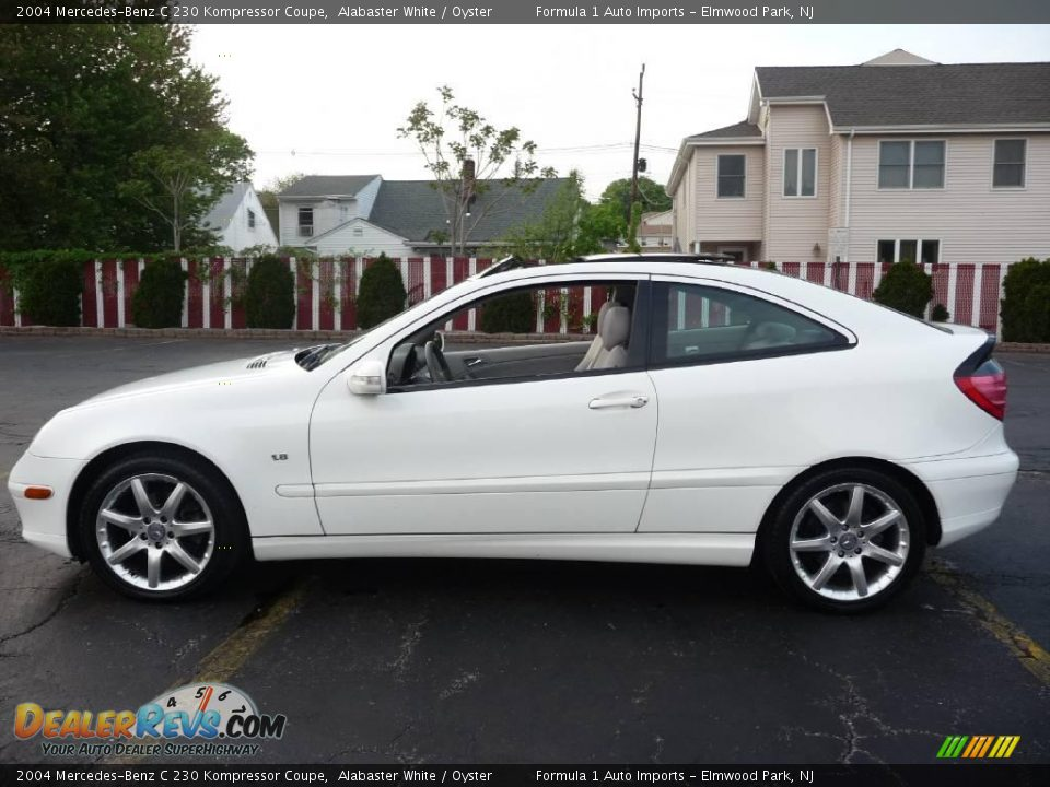 2004 Mercedes Benz C 230 Kompressor Coupe Alabaster White