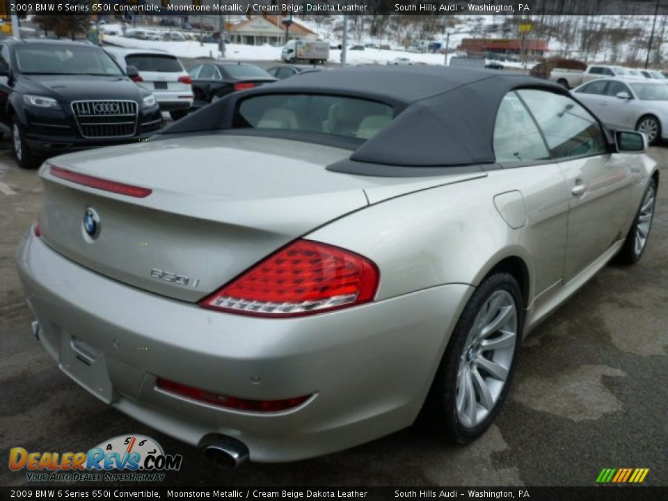 2009 bmw 6 series 650i convertible moonstone metallic. Black Bedroom Furniture Sets. Home Design Ideas