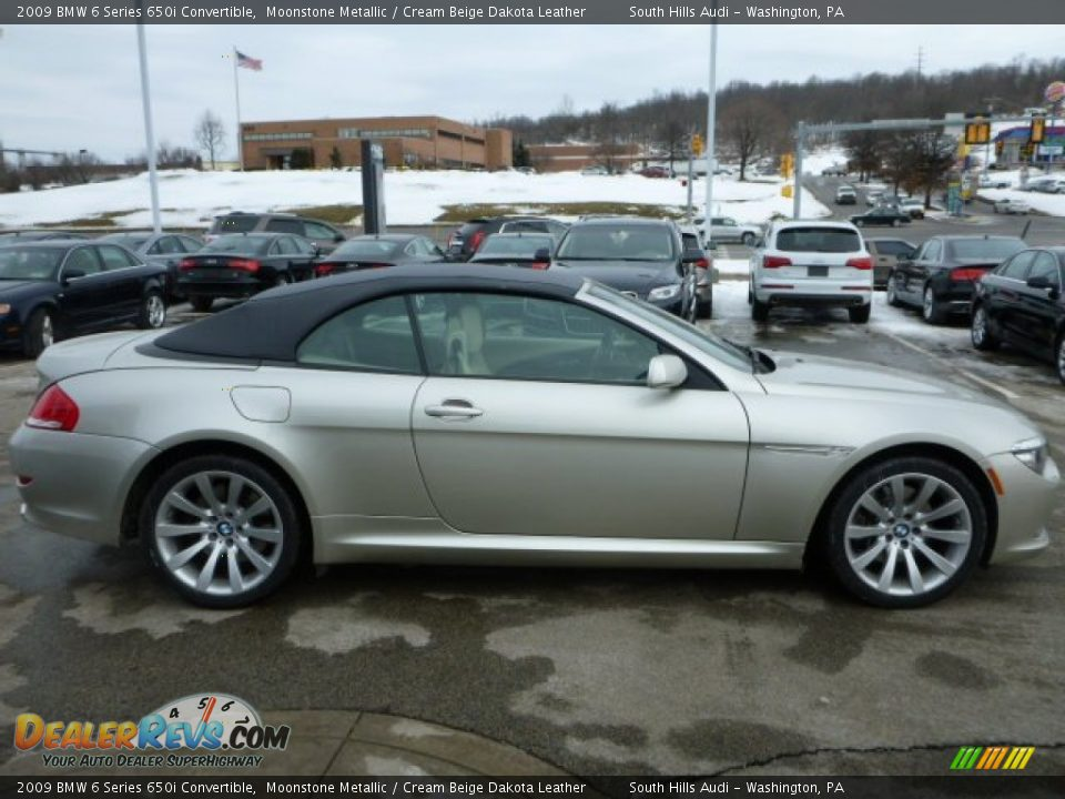 moonstone metallic 2009 bmw 6 series 650i convertible. Black Bedroom Furniture Sets. Home Design Ideas