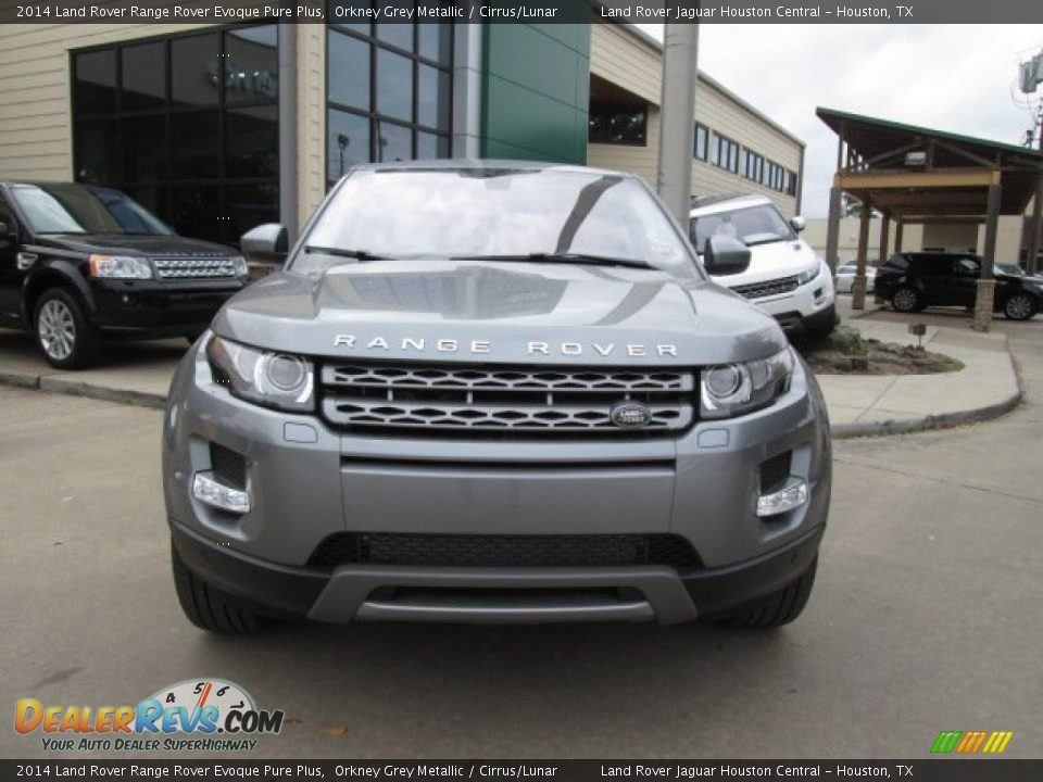 2014 land rover range rover evoque pure plus orkney grey metallic cirrus lunar photo 6. Black Bedroom Furniture Sets. Home Design Ideas