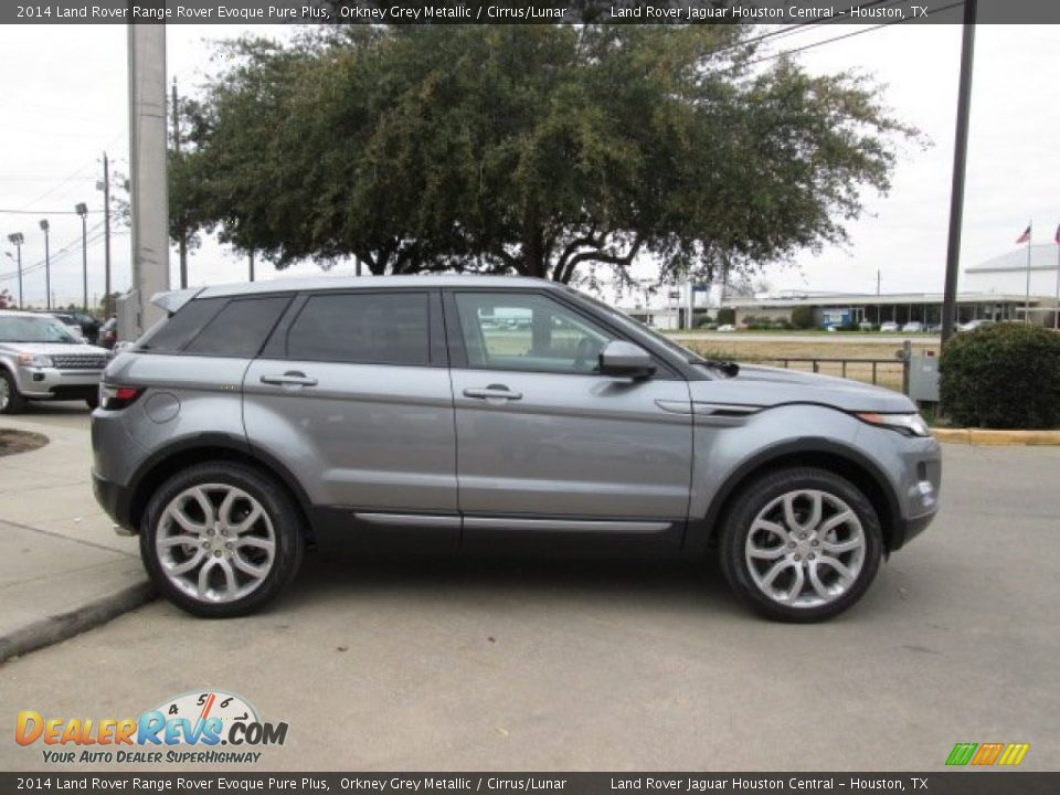 2014 land rover range rover evoque pure plus orkney grey metallic cirrus lunar photo 12. Black Bedroom Furniture Sets. Home Design Ideas