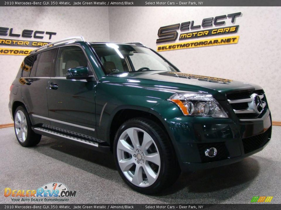 2010 Mercedes-Benz GLK 350 4Matic Jade Green Metallic / Almond/Black ... Mercedes Glk
