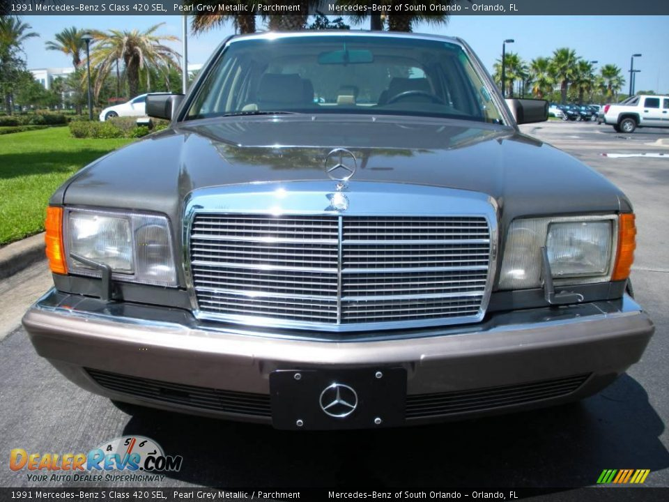 1991 mercedes benz s class 420 sel pearl grey metallic for 1991 mercedes benz 420sel