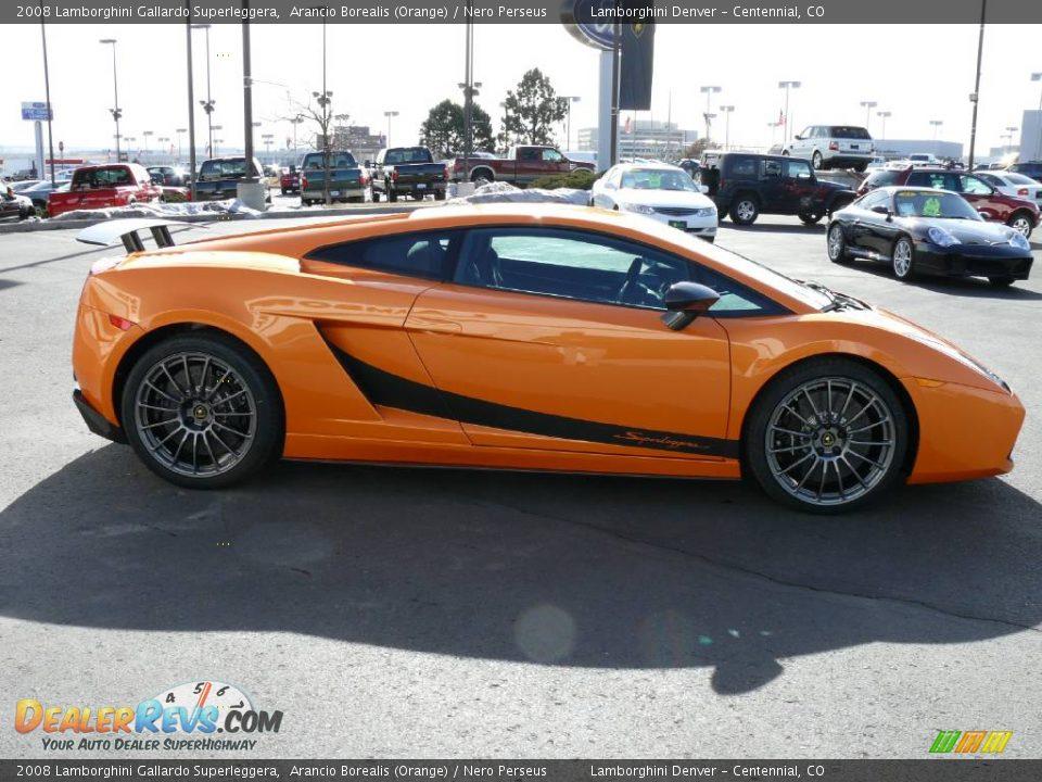 2008 Lamborghini Gallardo Superleggera Arancio Borealis ...