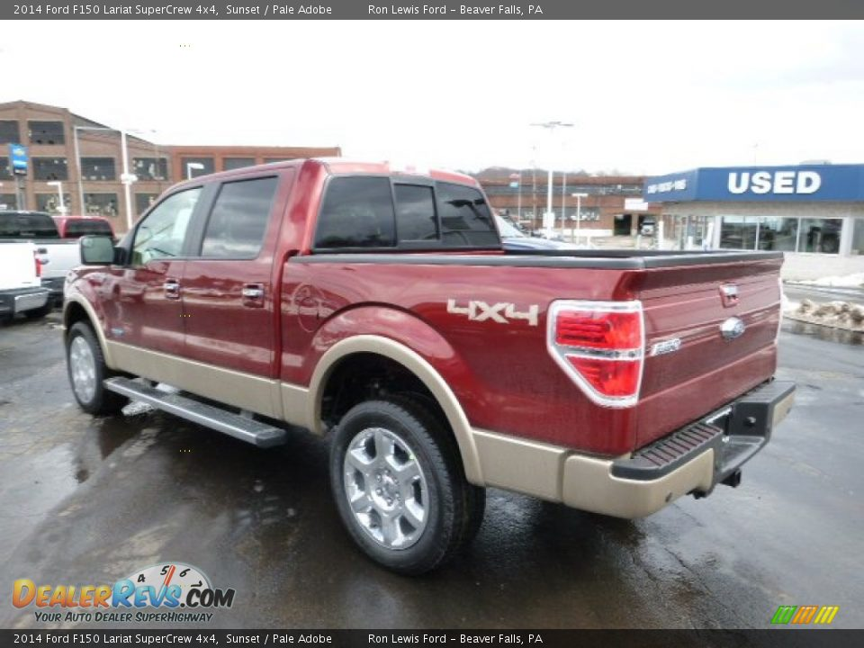 2014 ford f150 lariat supercrew 4x4 sunset pale adobe photo 6. Black Bedroom Furniture Sets. Home Design Ideas