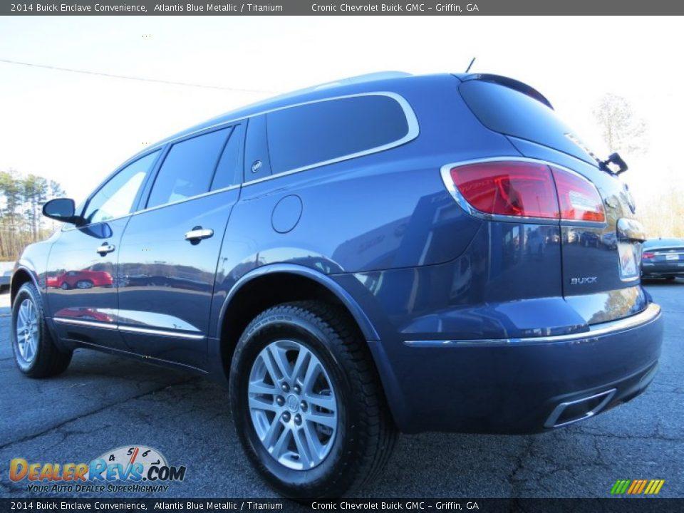 2014 Buick Enclave Convenience Atlantis Blue Metallic