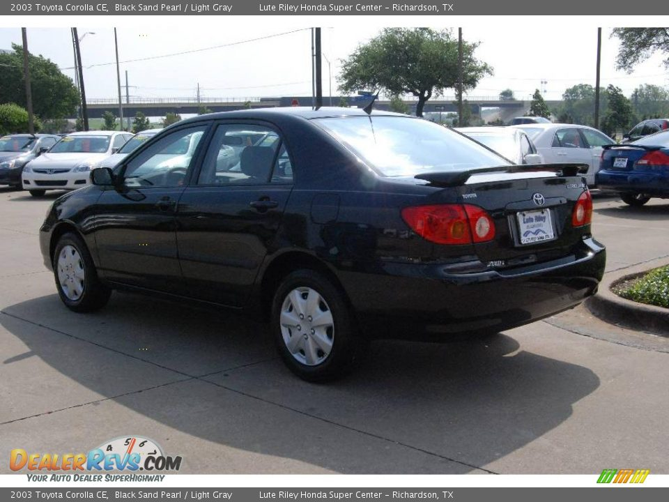 Toyota Corolla 2003 Black 2003 Toyota Corolla ce Black