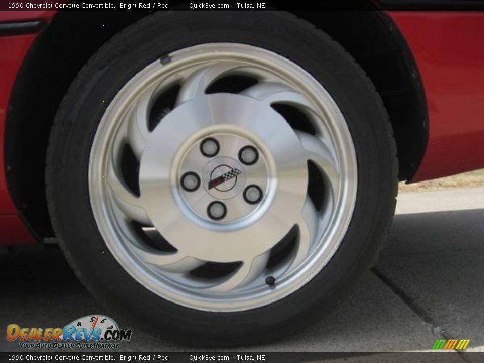1990 Chevrolet Corvette Convertible Wheel Photo #13