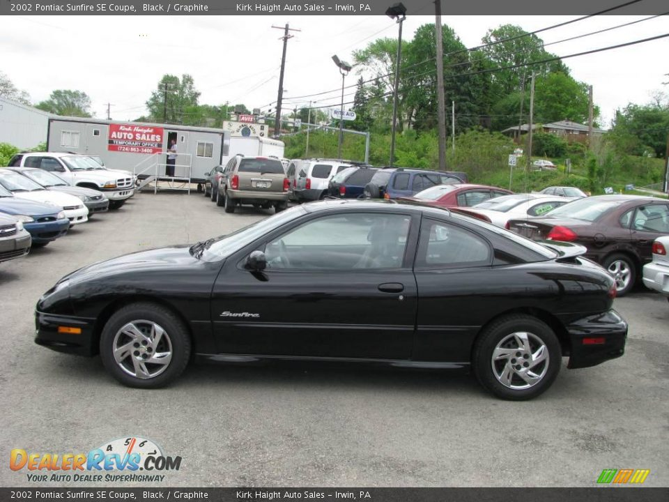 2002 pontiac sunfire se coupe black graphite photo 10. Black Bedroom Furniture Sets. Home Design Ideas