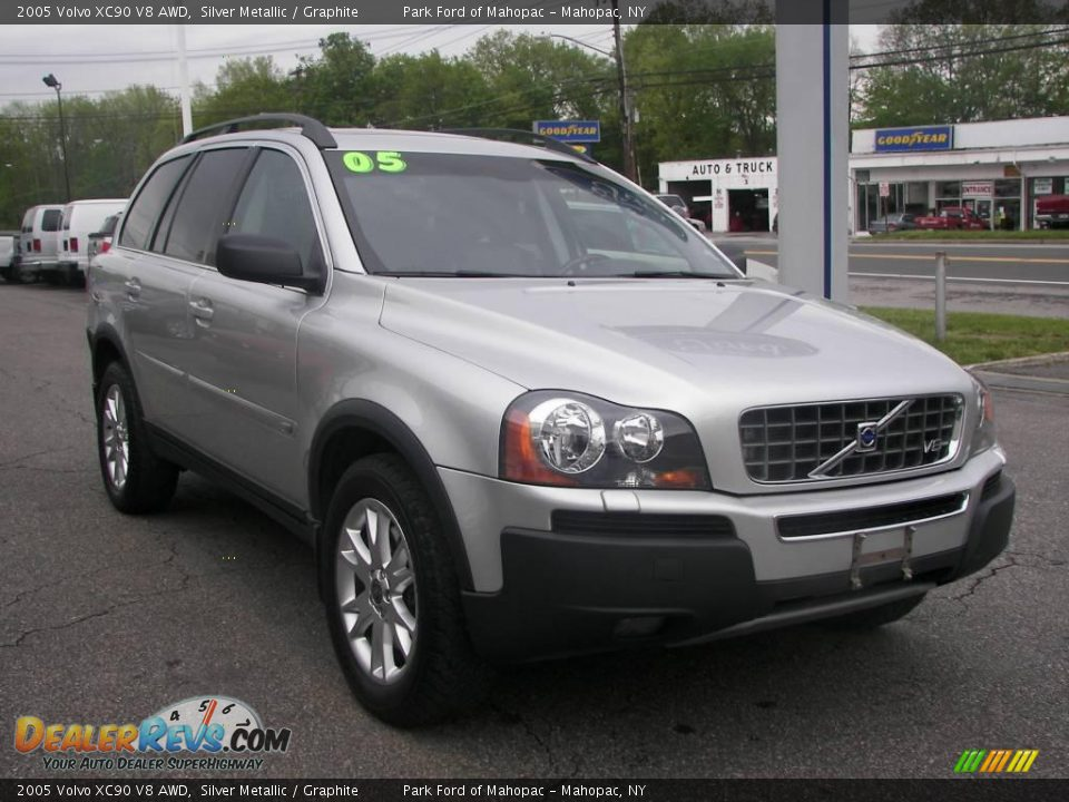 2005 volvo xc90 v8 awd silver metallic graphite photo 2. Black Bedroom Furniture Sets. Home Design Ideas