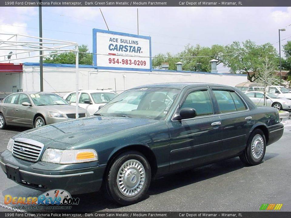 Ford Crown Victoria Police Interceptor 1998 Car Interior Design